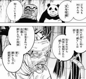 呪術廻戦 メカ丸 天与呪縛